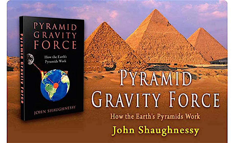 Shaughnessy book about Pyramid and Gravity force